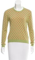 RED Valentino Wool Polka Dot Sweater