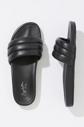 Seychelles Low Key Slide Sandals By in Black Size 6