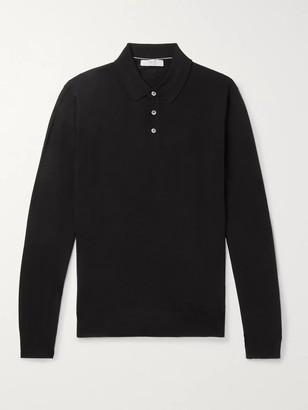 Mr P. Merino Wool Polo Shirt