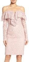 Bardot Allessandra Lace Sheath Dress