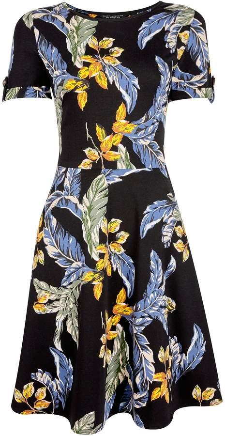 62d285b7595 Short Sleeve Skater Dress - ShopStyle UK