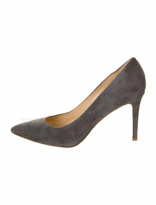 Marion Parke Suede Pumps w/ Tags Grey
