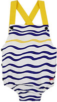 Sonia Rykiel Wavy-Stripe Print Bodysuit