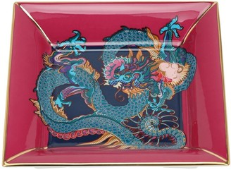 Shanghai Tang Dragon Square Fine Bone China Tray