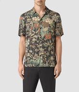 AllSaints Bouquet Short Sleeve Shirt