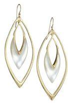Alexis Bittar Lucite Orbit Drop Earrings/Silver
