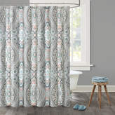 Echo Sterling Cotton Shower Curtain