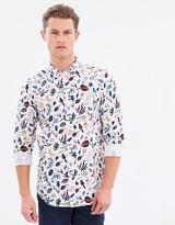 Paul Smith Mushroom Floral Print Shirt