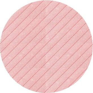 East Urban Home Vanzandt Striped Wool Pink Area Rug Rug Size: Runner 2' x 5'