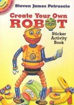 Dover Create Your Own Robot Sticker Activity Book