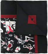 Dolce & Gabbana jazz print pocket square