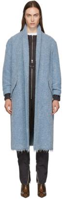 Etoile Isabel Marant Blue Boucle Faby Coat