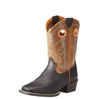 Ariat Kids' Baby Heritage Roughstock Western Boot