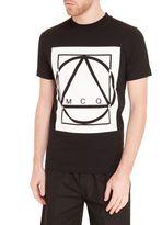 McQ by Alexander McQueen Glyph Icon Print T-shirt
