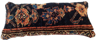 One Kings Lane Vintage Antique Lumbar Malayer Pillow