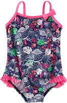 Osh Kosh OshKosh Tropical Print Swimsuit