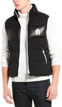 Mackage Allister Leather-Trim Vest