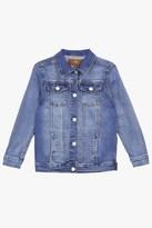 7 For All Mankind Girls 4-6x Stretch Denim Jacket In Nirvana