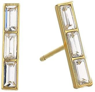 Gorjana Desi Bar Studs Earrings (Gold) Earring
