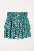 H&M Tiered Skirt with Smocking