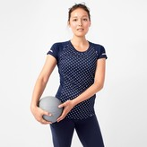 J.Crew New Balance® for polka-dot cooling T-shirt