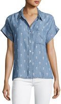 Rails Whitney Baby-Pineapple Chambray Top
