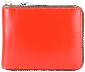 Comme des Garcons Colour Block Zipped Wallet