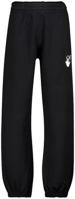 Off-White Printed cotton trackpants