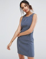 Sugarhill Boutique Spot Jacquard Shift Dress
