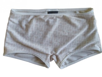 Fendi Beige Polyester Shorts