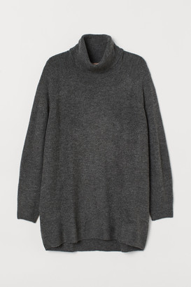 H&M H&M+ Long Turtleneck Sweater
