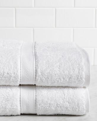 Linum HomeTextiles Hometextiles Terry Set Of 2 Bath Sheets