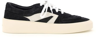 Fear Of God SKATE LOW LEATHER SNEAKERS 41 Black, Grey Leather