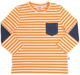 Il Gufo Striped Cotton T-Shirt