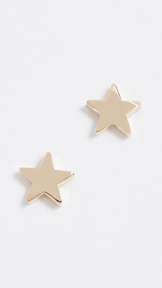 Jennifer Meyer 18k Gold Mini Star Stud Earrings