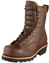 "Chippewa Men's 8"" Waterproof Steel Toe EH Lace-to-Toe 73103 Logger Boot"