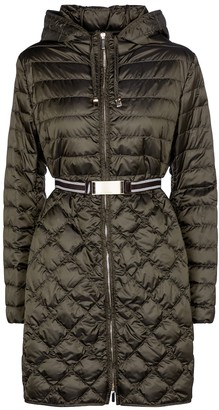 Max Mara Etrevi quilted down coat