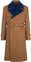Sies Marjan Emerson two-tone coat