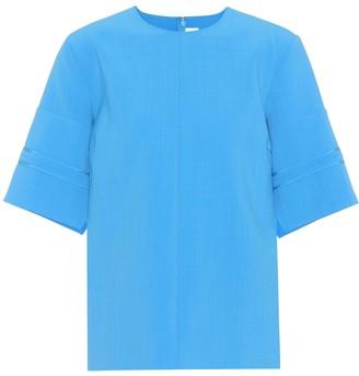 Victoria Victoria Beckham Crepe T-shirt