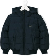 Dolce & Gabbana padded jacket - kids - Polyester/Goose Down/Duck Feathers - 4 yrs