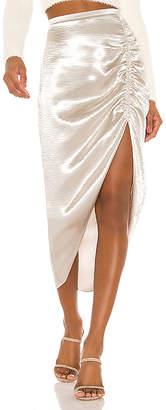 BB Dakota Shiny Dancer Ruched Skirt