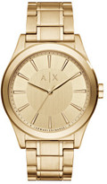 Armani Exchange Nico Gold Watch