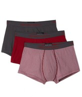 Emporio Armani 3 Pack Pure Cotton Trunks