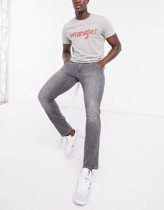 Wrangler Bryson skinny fit jeans in grey