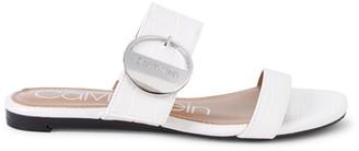 Calvin Klein Senya Textured Sandals