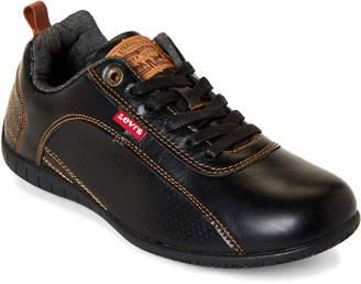 Levi's Black Sylmar Burnish Low-Top Sneakers