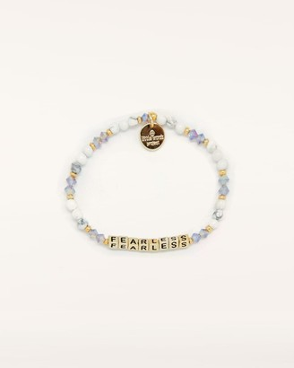 Splendid FEARLESS Little Words Project Stretch Bracelet