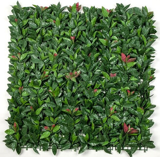 Designer Plants Photinia Leaf Artificial Outdoor Panel