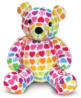 Melissa & Doug Toddler 'Beeposh - Hope Bear' Plush Toy