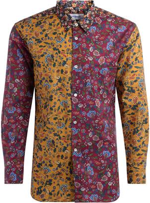 Comme des Garçons Shirt Regoular Fit Shirt In Multicolor Cotton